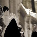 Trono procesional, en el Santuario de María Auxiliadora
