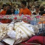 Visita a Málaga de la Reliquia de Don Bosco